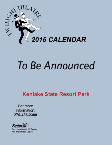 2015 Twilight calendarA